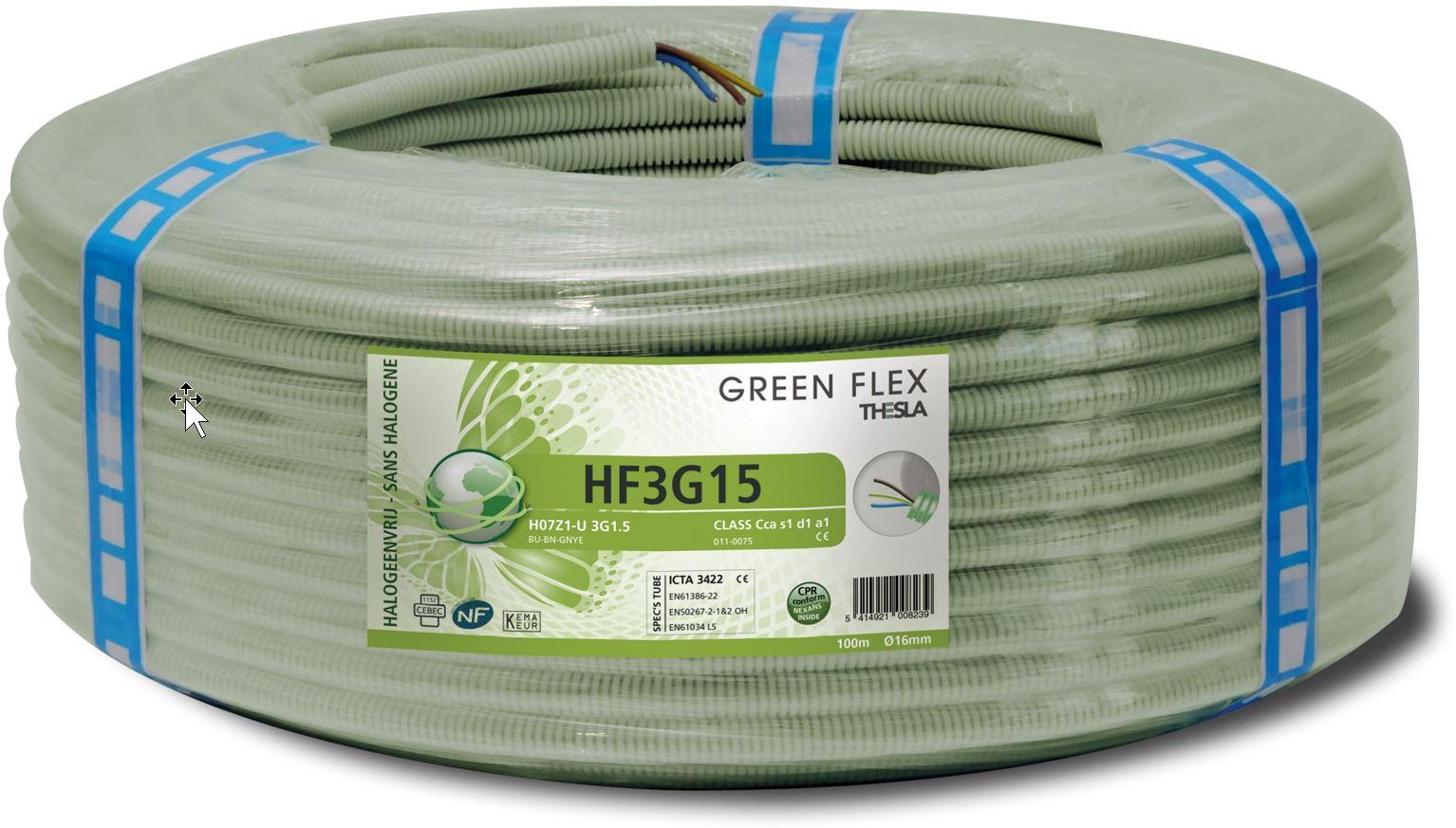 Greenflex kabels